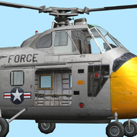 UH19-S55  US Air Force 2 (Chickasaw)