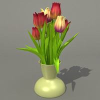 Bouquet Tulip 3ds.zip