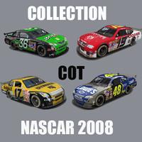 nascar cot 3d model