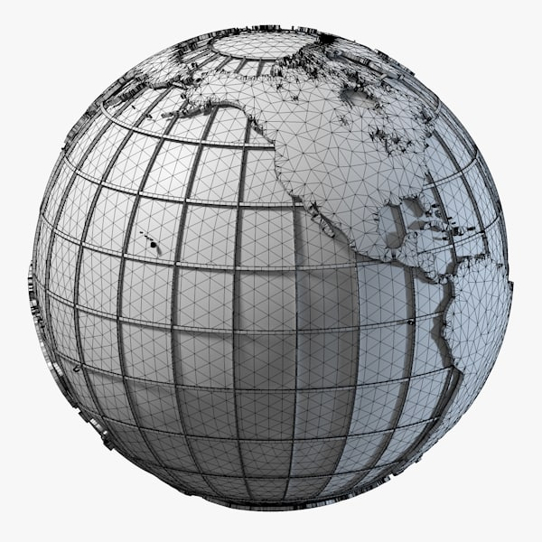 globe c4d - Clean Globe / 2 Versions... by Marketing Arts Group