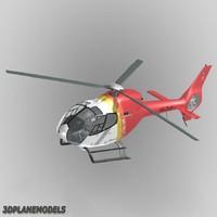 3dsmax eurocopter ec-120b bb heli