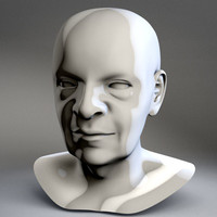 head old man edward 3d model