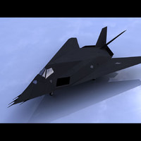 F-117A Nighthawk Stealth Attack Aircraft