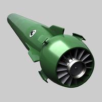 3d mk-48 adcap torpedo hwt