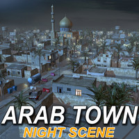 Arab Town Set02-NIGHT