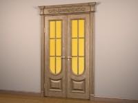 wood door 3d model