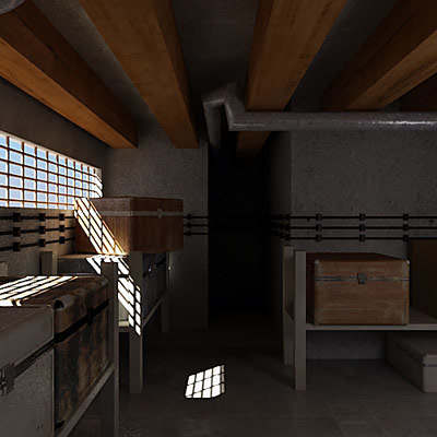 scene 3d model - Basement... by QLEE