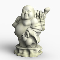 figurine sculpture 3d max