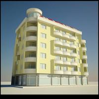 3d building architecture