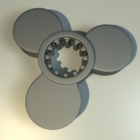 metal component 3d model