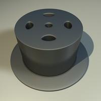 3d metal component