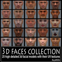 3ds max faces uv actors
