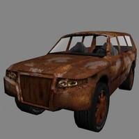 3d model 4x4 uv mapped
