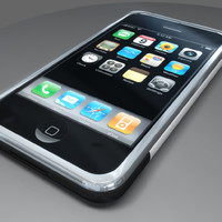 3d apple iphone