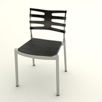 ice chair 3d max