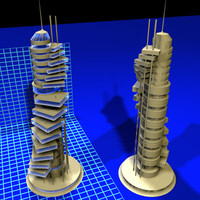 3d model of spindeck tower 112707 01