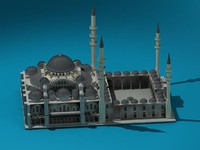 religional mosque 3d model