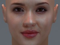 3ds max actress jessica alba