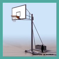 Backboard Basketball Hoop Goal Basket