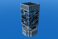 modern building dxf