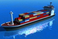 maya cargo ship