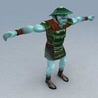 goblin warrior 3d 3ds
