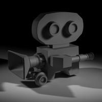 movie camera 3d 3ds