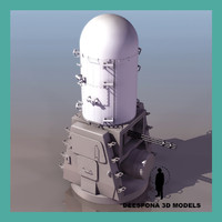 3ds max phalanx ciws navy antimissil