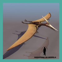 3ds max pteranodon ingens