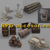 3d accesories rpg model