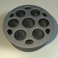 3d model metal component