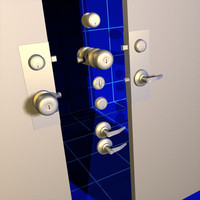 Door Handles and Deadbolts 01