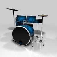 7-Piece Drumset