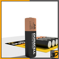 3d model duracell