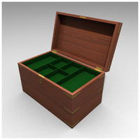 Mahogany Box 3d model