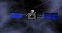 3ds max space satellite