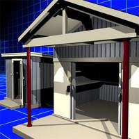 shed 01 3d model