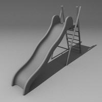 slide playgrounds 3d model
