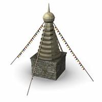 maya tibetian statue