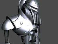 centurion robot 3d max