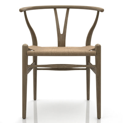 hans j ch24 wishbone chair 3d model - CH24  Wishbone Chair... by wither.org