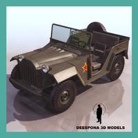3d gaz 67 b 64 model