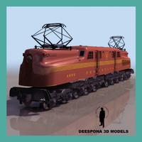 pensylvania railroad 3d max