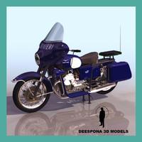 3d moto guzzi 700 cc