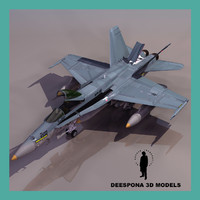 f-18 hornet navy fighter max