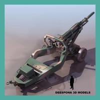 M102 howitzer US CANNON MORTAR GUN IRAK VIETNAM