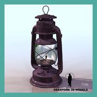 lantern lamp cold blast 3d max