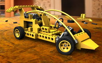 3d model lego toy car