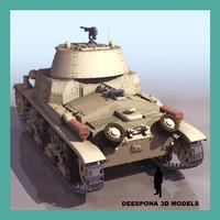 3d fiat m13 40 italian model
