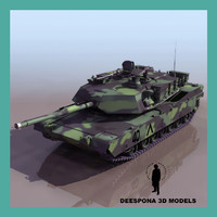 3ds max m1 a2 abrams tank